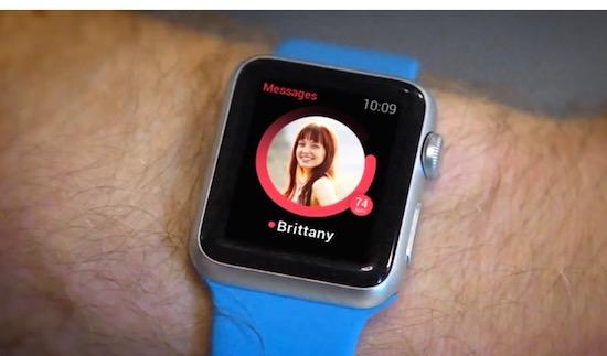 Zo laat je de Apple Watch automatisch voor je Tinderen