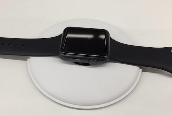 Dit wordt het oplaaddock voor de Apple Watch