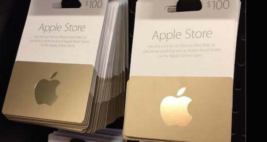 Frauderende Apple-medewerker jat voor 1 miljoen aan giftcards