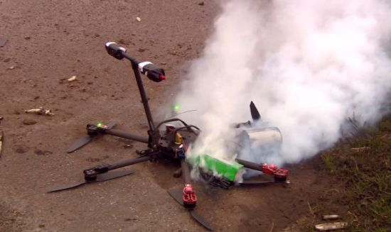 Asperge-drone-crash