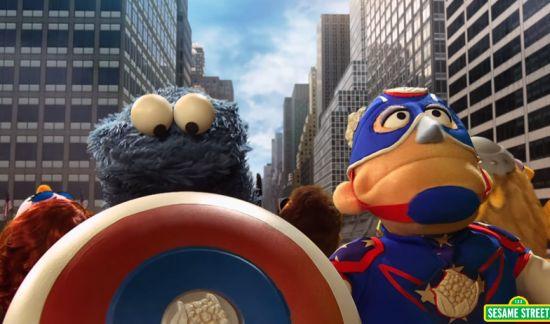 Avengers-sesamstraat