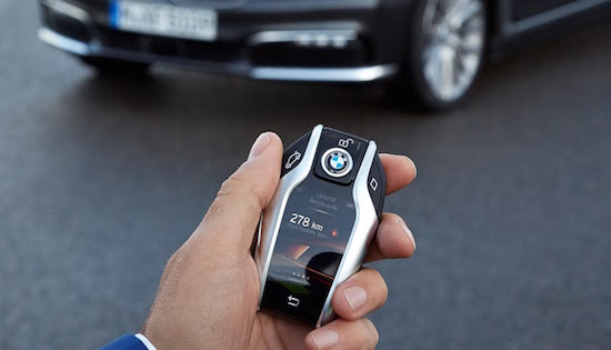 BMW 7 Serie sleutel
