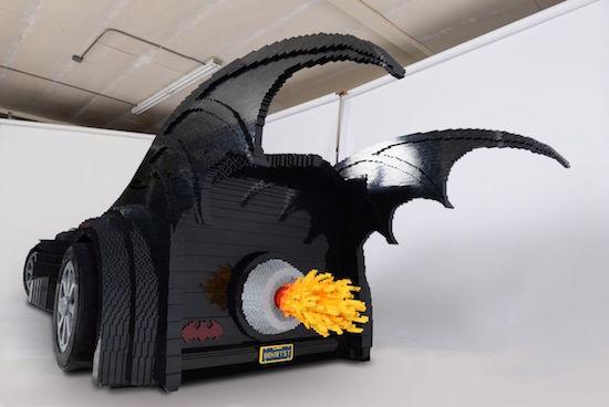 Batmobile van Sawaya