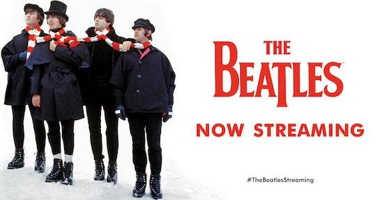 Muziek Beatles komt naar streamingdiensten