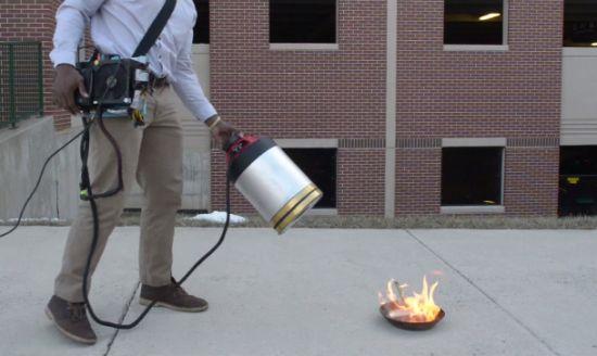 Brandblusser-geluid