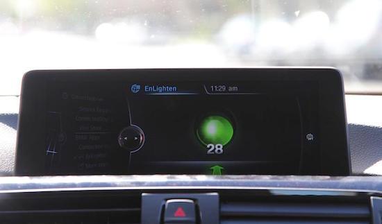 BMW's vertellen je wanneer verkeerslichten op groen springen