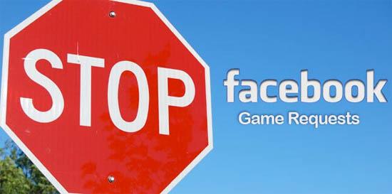 Stop Facebook game uitnodigingen