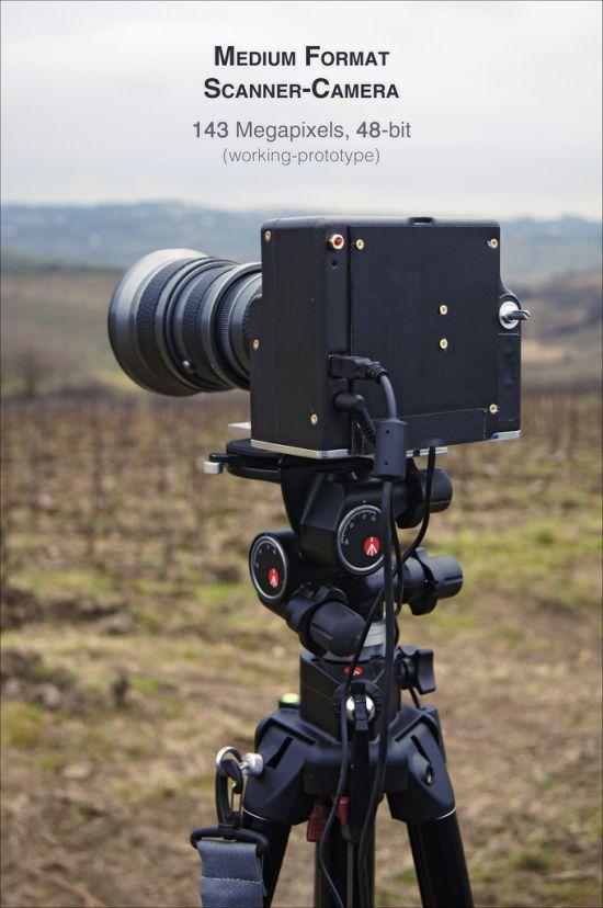 Flatbed-fotocamera-prototype
