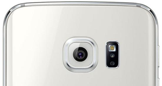 Camera van een Samsung Galaxy S6