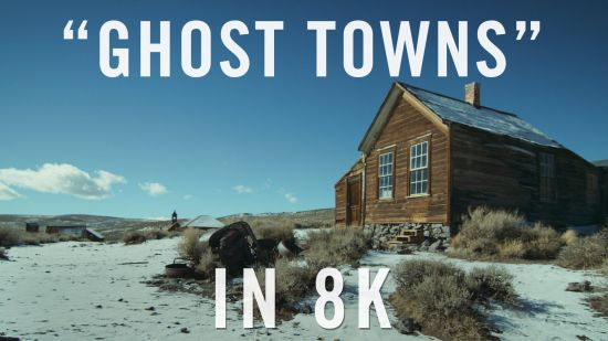 Ghosttowns eerste YT video in 8K