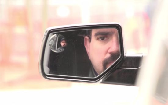 Irisscanner-autospiegel