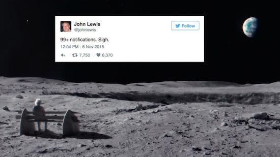 Amerikaanse John Lewis kapot gespamd op Twitter wegens TV commercial