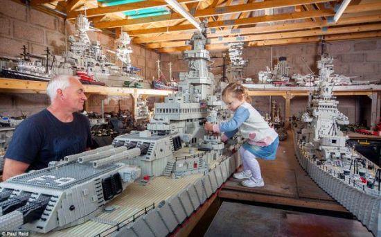 Legoboot missouri