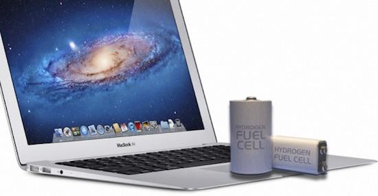 MacBook op waterstof heeft stroom voor weken