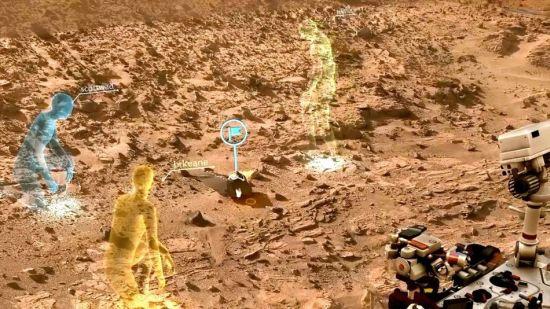 Mars-Hololens