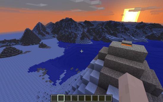 Minecraft-Antartica