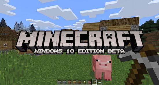Minecraft komt met nieuwe versie voor Windows 10