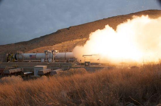 NASA-Raket-Test