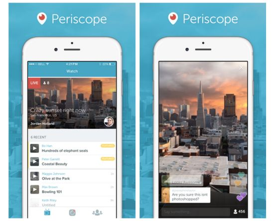 Periscope-Interface