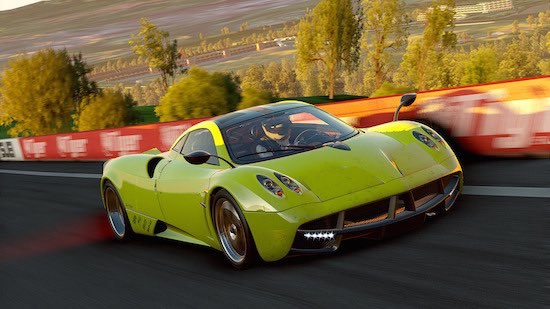 Pagani Huayra in Project Cars