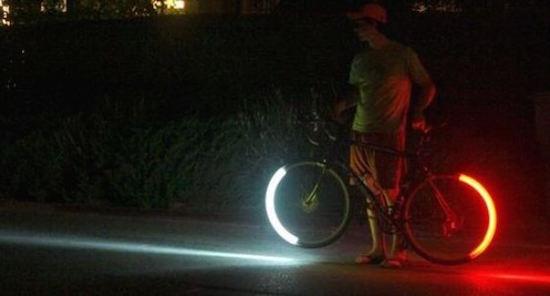 Maak de blits tijdens een fietslichtcontrole met Revolights - Apparata