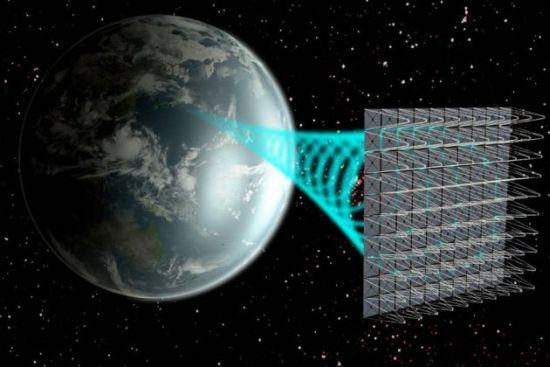 Ruimte-zonne-energie
