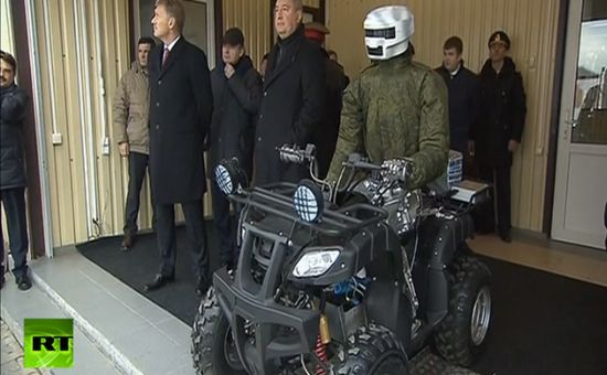 Russische-Gevechtsrobot