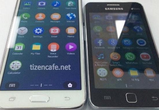 Samsung Z3 en Samsung Z1