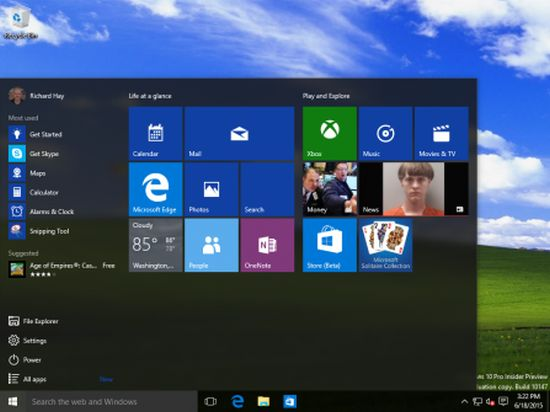 Screenschot Windows 10