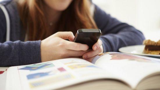 Smartphone-in-de-klas