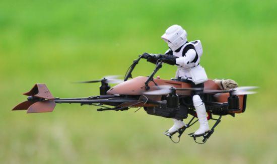 Speederbike-Drone