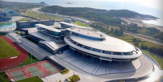Chinese zakenman laat kantoor bouwen in vorm van ruimteschip