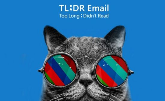 TLDR-email