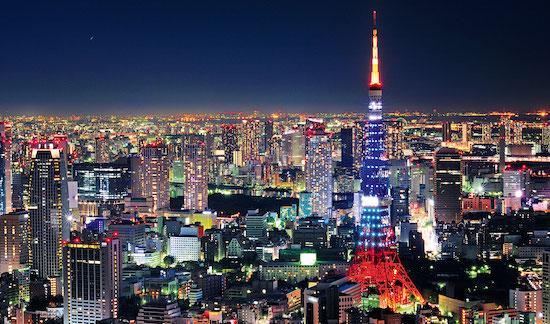 Tokyo Kleuren