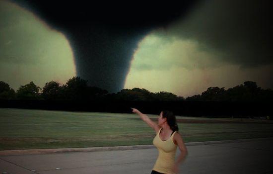 Tornado vrouw