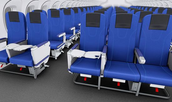 Toyota-vliegtuigstoel