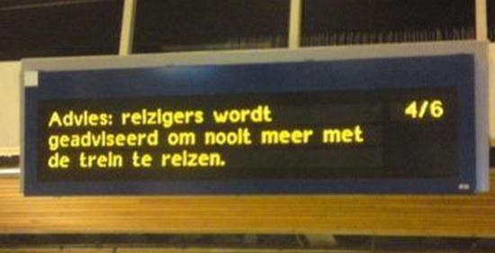 Mega-treinstoring kwam door ICT-faal