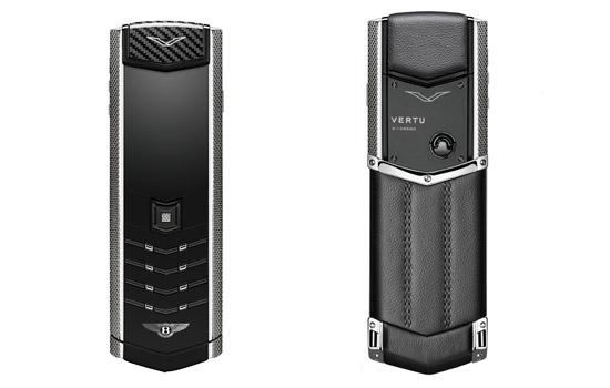 Bentley lanceert peperdure telefoon die alleen kan bellen