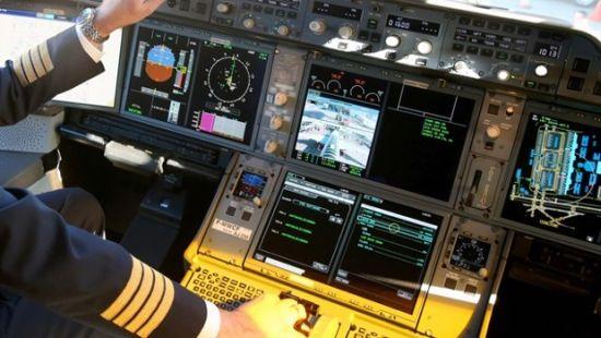 Vliegtuig-Hacken