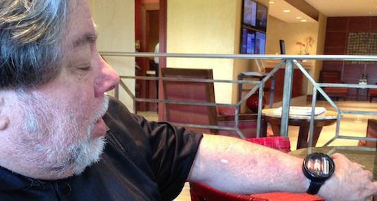 Dit is het toffe horloge van Steve Wozniak