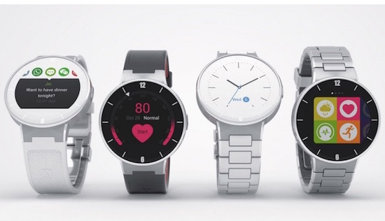 Alcatel komt met een ronde smartwatch voor een meier