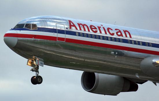 Een Boeing 767 van American Airlines
