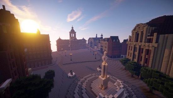 Amsterdam Minecraft