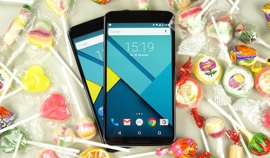 Android 5.0 groeit, maar loopt nog flink achter
