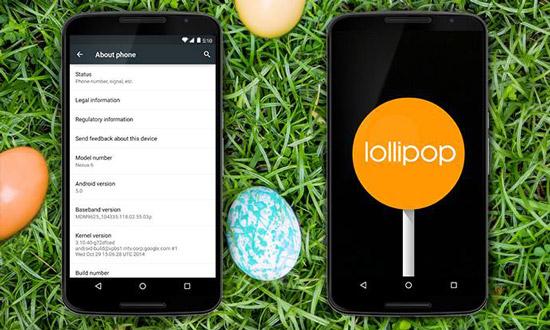 Android 5.0 Lollipop eindelijk op 10 procent toestellen