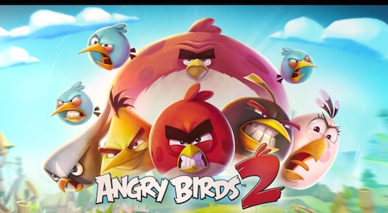 Angry Birds 2 nu al een megahit: 1 mln. downloads in 12 uur