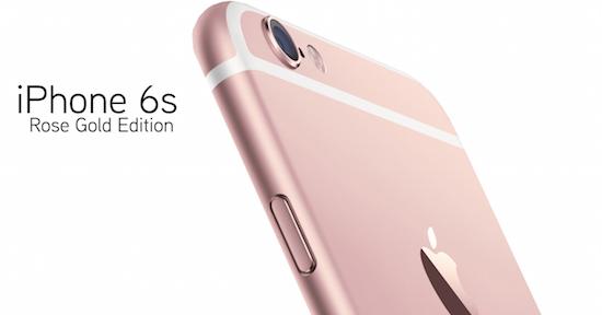 iPhone 6S verkrijgbaar in roségoud, krijgt saffierscherm