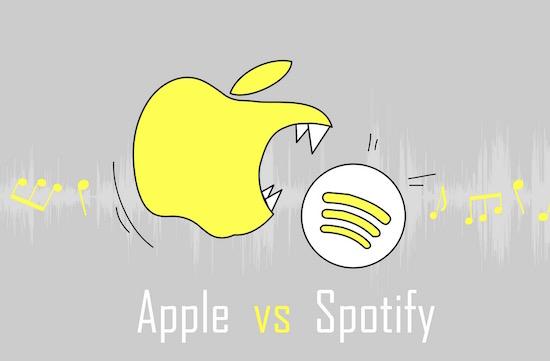 Wat is het verschil tussen Apple Music en Spotify?