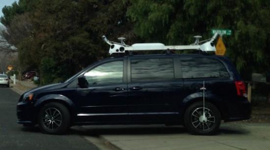 Apple stuurt busjes de weg op om 3D-kaarten te maken