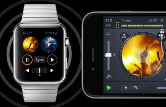 apple watch dj app